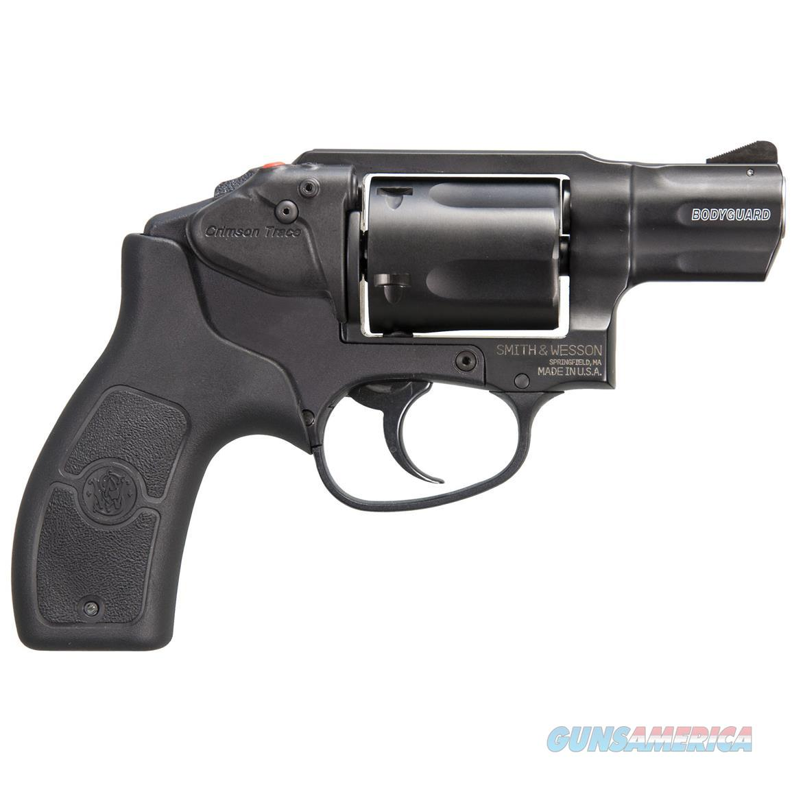 Smith & Wesson M&P Bodyguard 38 Crimson Trace .38 Special 10062   Guns > Pistols > Smith & Wesson Revolvers > Small Frame ( J )