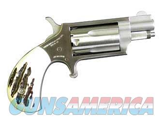"NAA Mini-Revolver .22 WMR 1.125"" Stag Grips NAA-22MS-GSTG  Guns > Pistols > North American Arms Pistols"