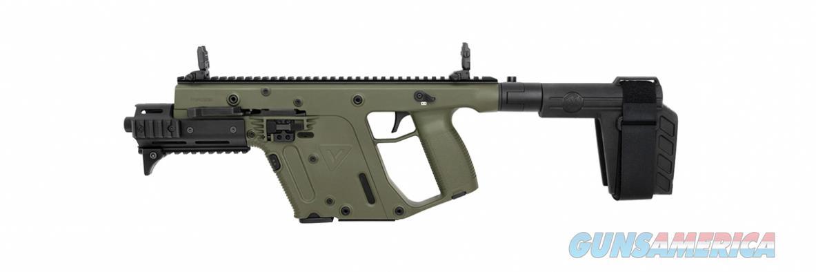 "Kriss Vector Gen II SDP-SB 9mm OD Green 6.5"" TB KV90-PSBGR31  Guns > Pistols > Kriss Tactical Pistols"