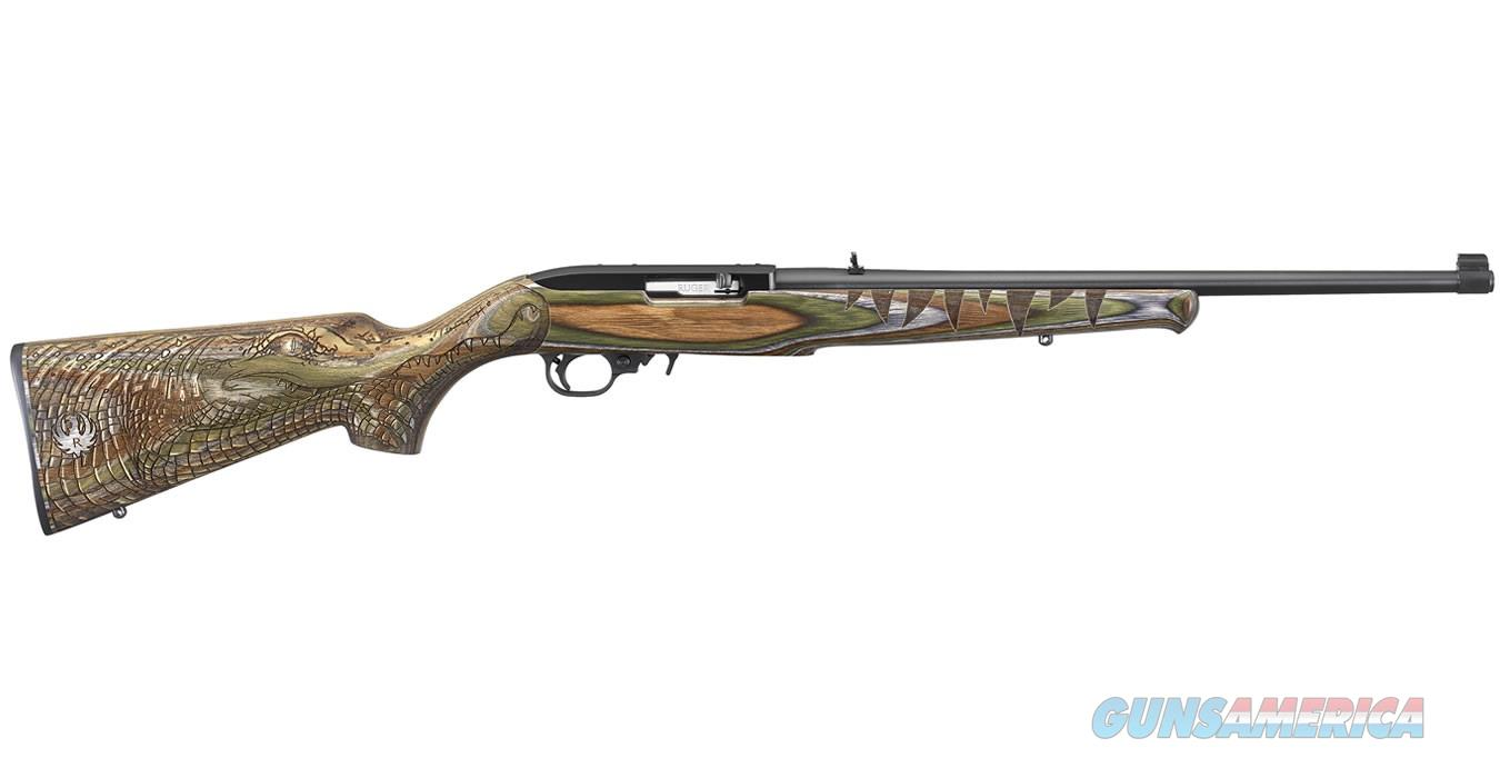 Ruger 10/22 Green Gator .22 LR TALO Edition 21179   Guns > Rifles > Ruger Rifles > 10-22
