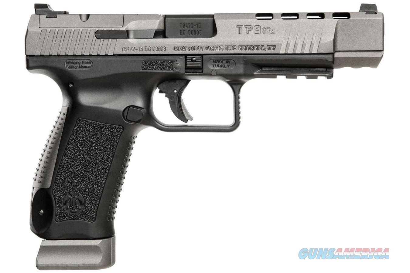 "Century Canik TP9SFX 9mm 5.2"" 20 Rds Vortex Viper HG3774GV-N   Guns > Pistols > Century International Arms - Pistols > Pistols"