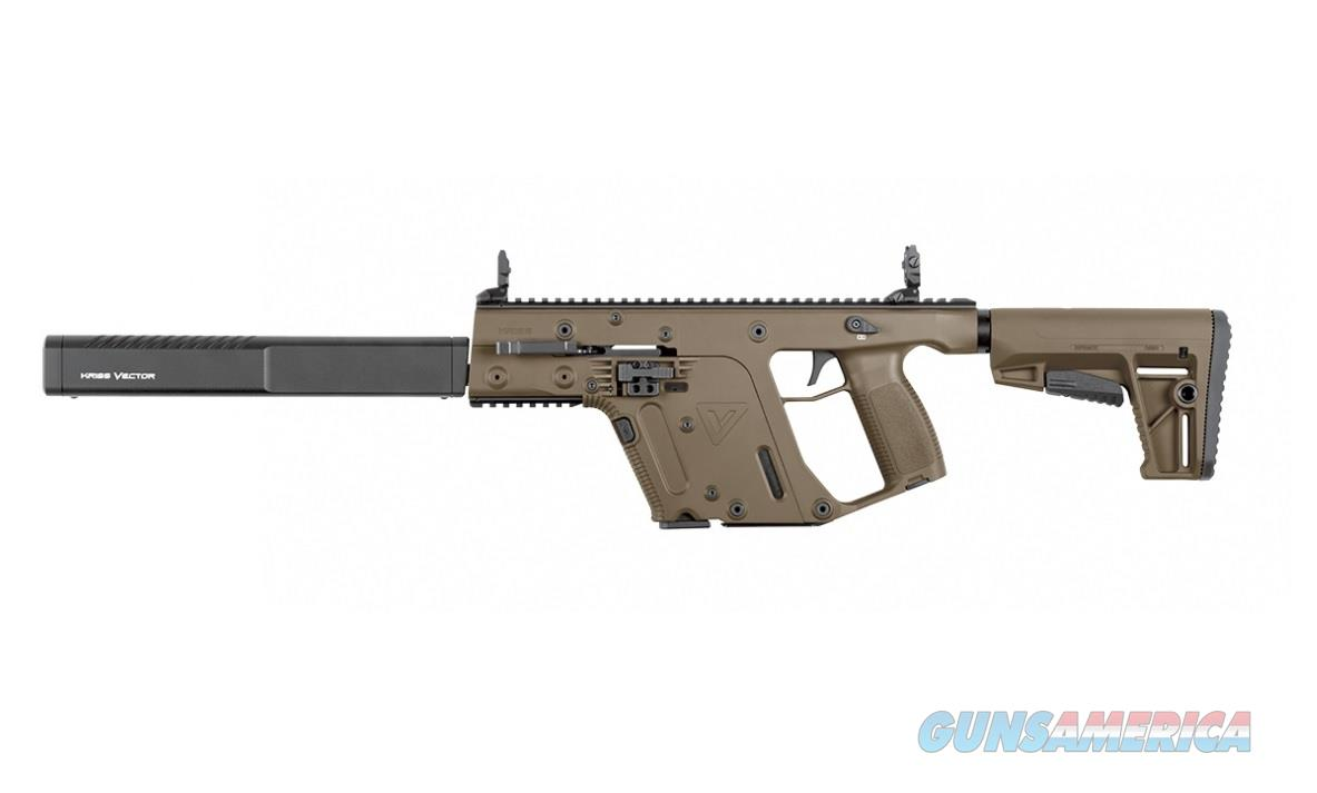 "Kriss Vector Gen II CRB .45 ACP FDE 16"" KV45-CFD20   Guns > Rifles > Kriss Tactical Rifles"