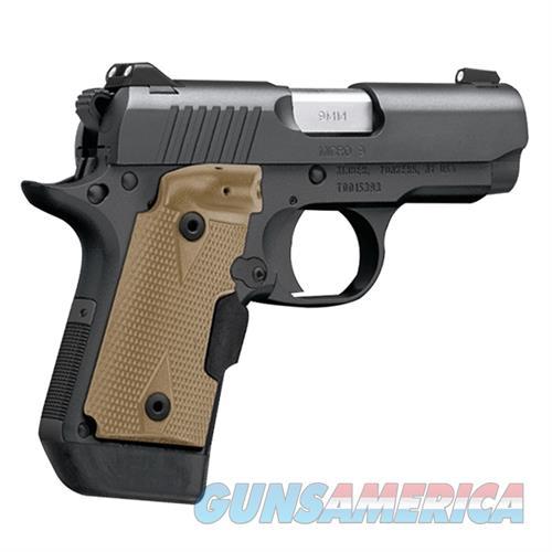 Kimber Micro 9 (LG) 9mm Desert Tan Crimson Trace Lasergrips 3300176   Guns > Pistols > Kimber of America Pistols > Micro 9