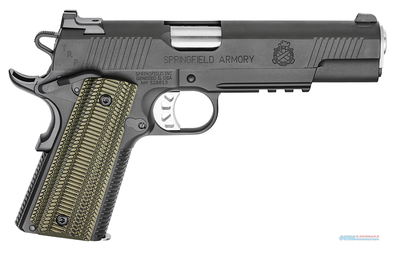 "Springfield Armory 1911 TRP 10mm Black-T 5"" 8rds PC9510L18   Guns > Pistols > Springfield Armory Pistols > 1911 Type"