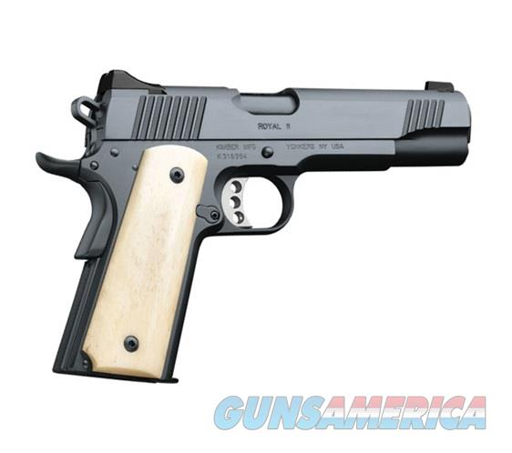 Kimber Royal II 1911 Bone Grip 45 ACP 3200263  Guns > Pistols >  Kimber of America Pistols > 1911