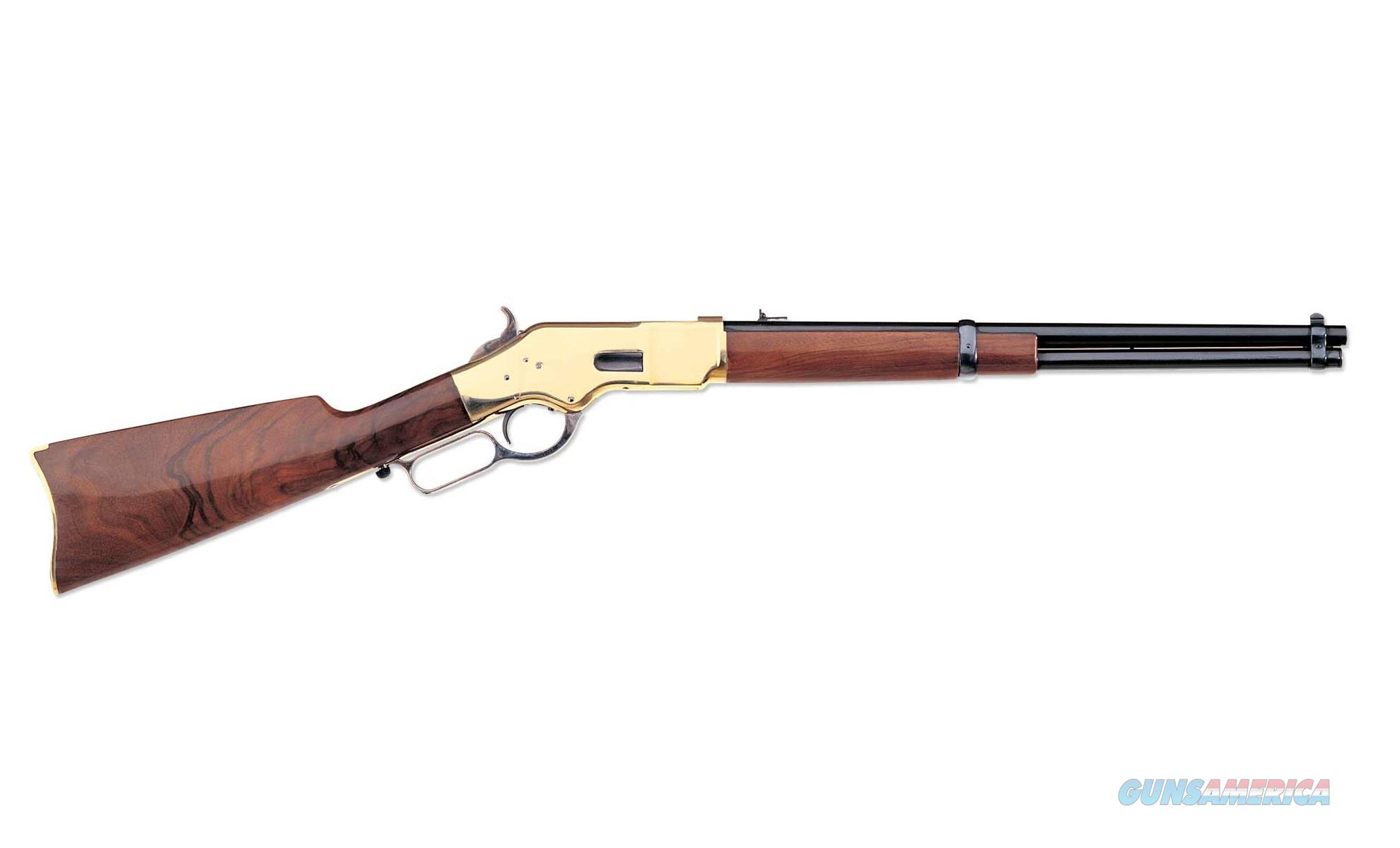"Uberti 1866 Yellowboy Brass Carbine .45 Colt 19"" 342280  Guns > Rifles > Uberti Rifles > Lever Action"