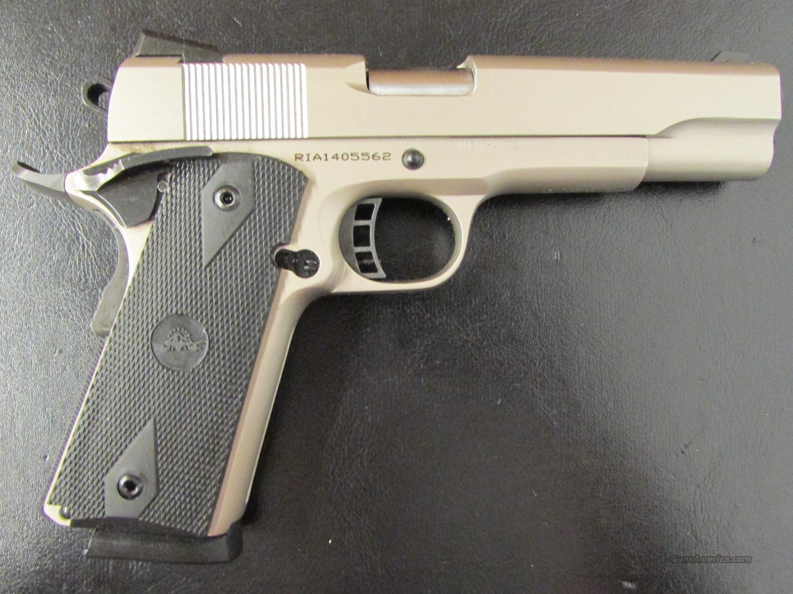 A1 Auto Sales >> Rock Island TAC 1911 FS Matte Nickel Finish .45... for sale