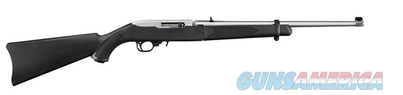 Ruger 10/22 Take-Down Stainless and Black .22 LR 11100  Guns > Rifles > Ruger Rifles > 10-22
