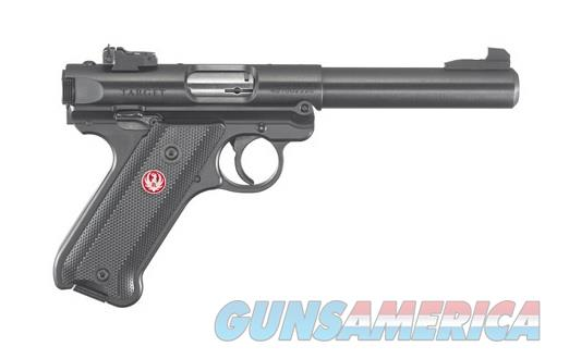 "Ruger Mark IV Target Blued .22 LR 5.5"" 10rds 40101   Guns > Pistols > Ruger Semi-Auto Pistols > Mark I/II/III/IV Family"