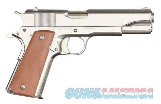 Armscor/RIA 1911 GI Standard FS Bright Nickel .38 SUPER 51814   Guns > Pistols > Rock Island Armory Pistols