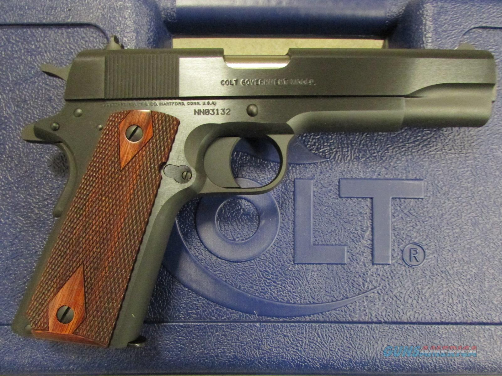 "Colt 1991 Government Series 80 1911 5"" Blued 9mm O1992  Guns > Pistols > Colt Automatic Pistols (1911 & Var)"