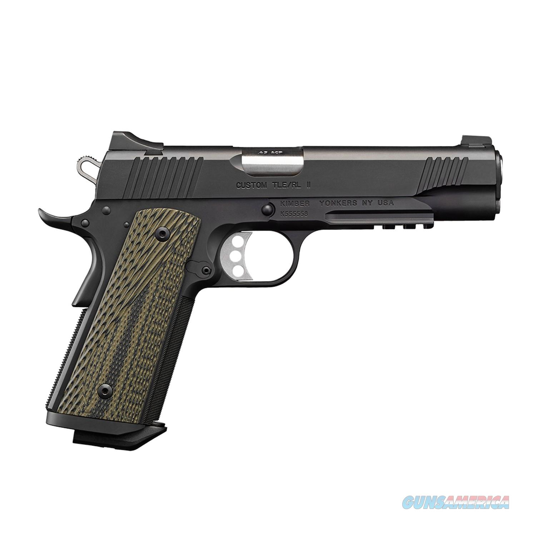 "Kimber Custom TLE/RL II .45 ACP 5"" 7Rds 3200336  Guns > Pistols > Kimber of America Pistols > 1911"