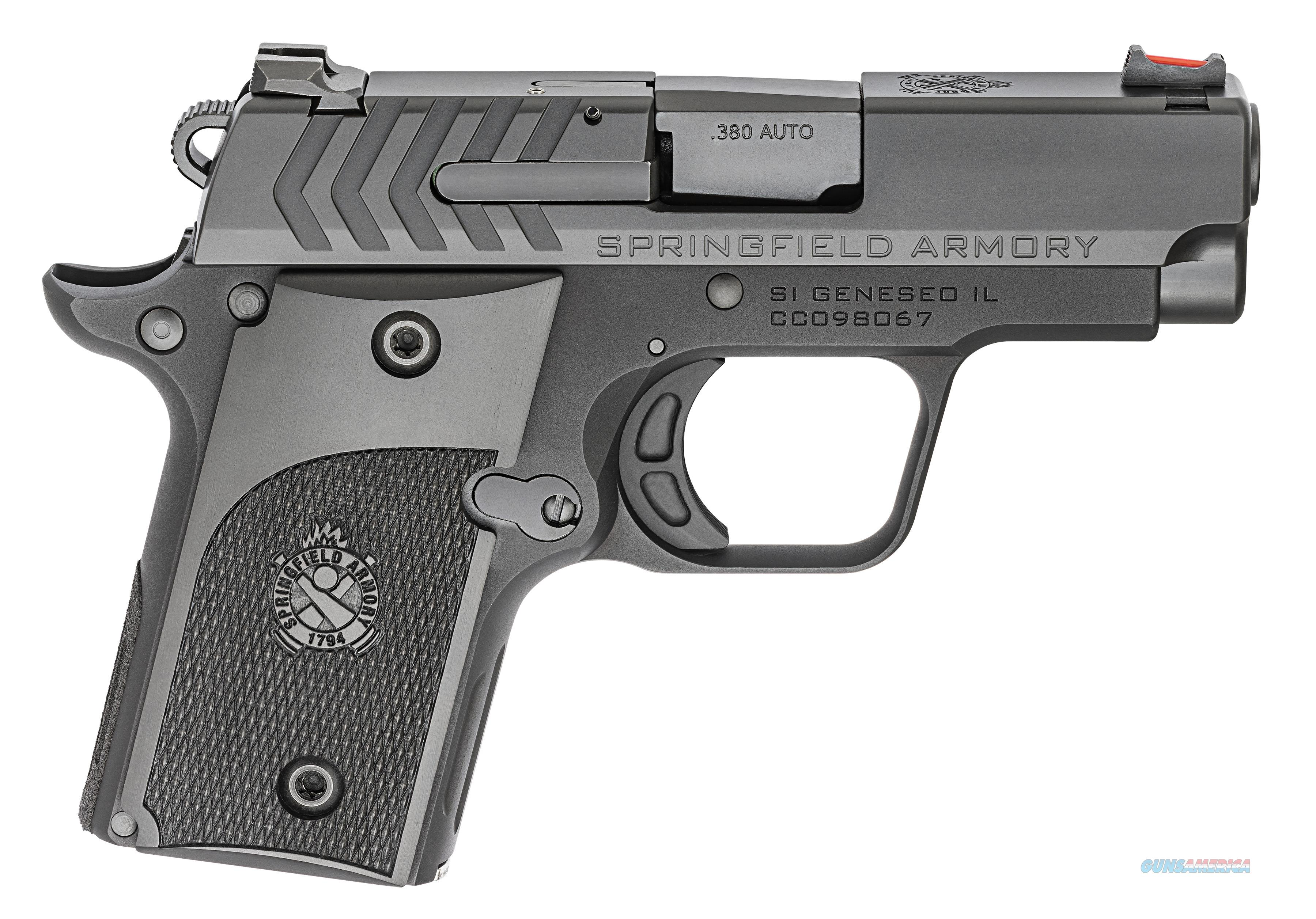 "Springfield 911 Alpha .380 ACP 2.7"" Black Nitride PG9108   Guns > Pistols > Springfield Armory Pistols > 911"