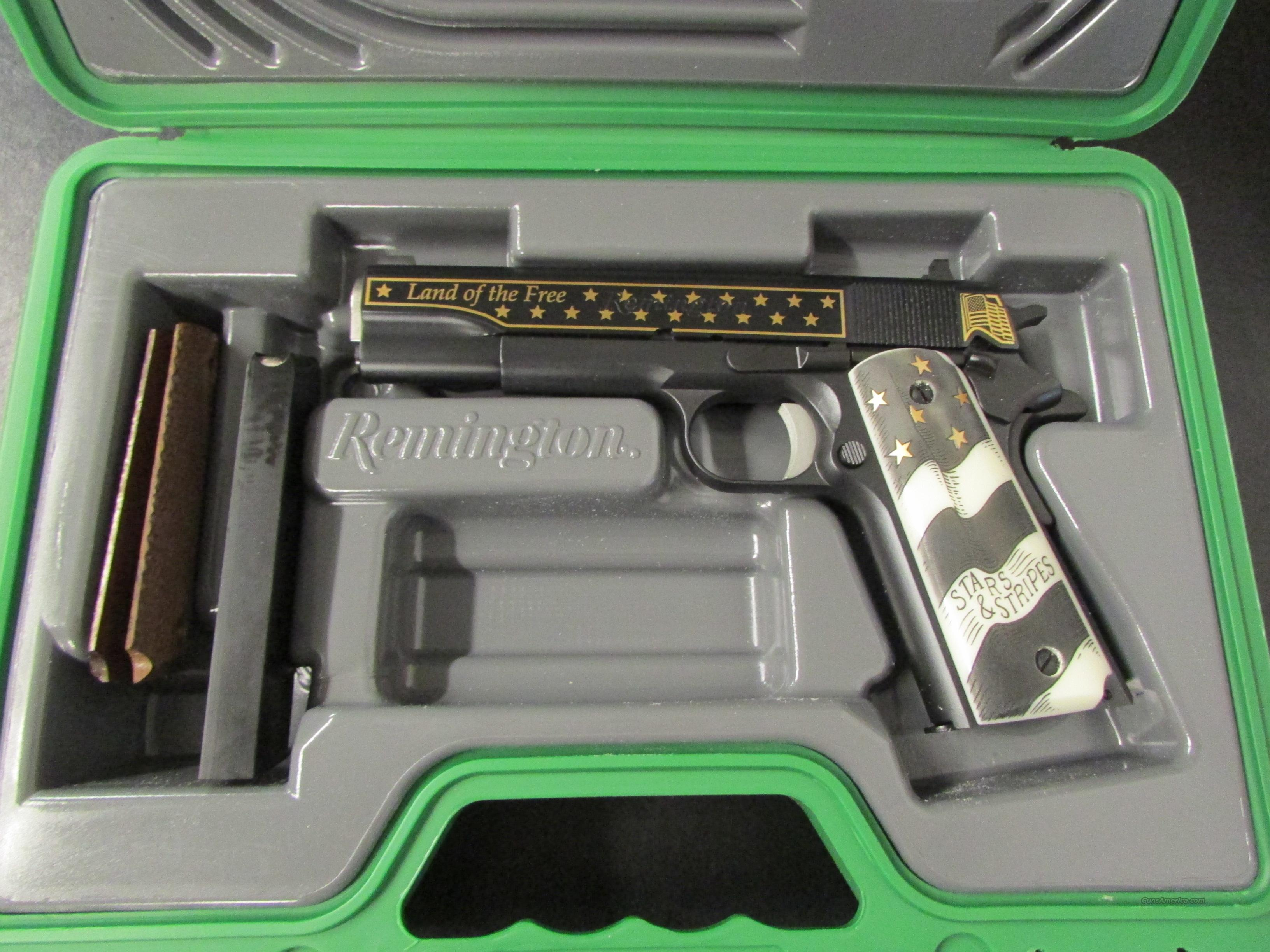Remington 1911 R1 Stars & Stripes 1 of 500 .45ACP  Guns > Pistols > Remington Pistols - Modern