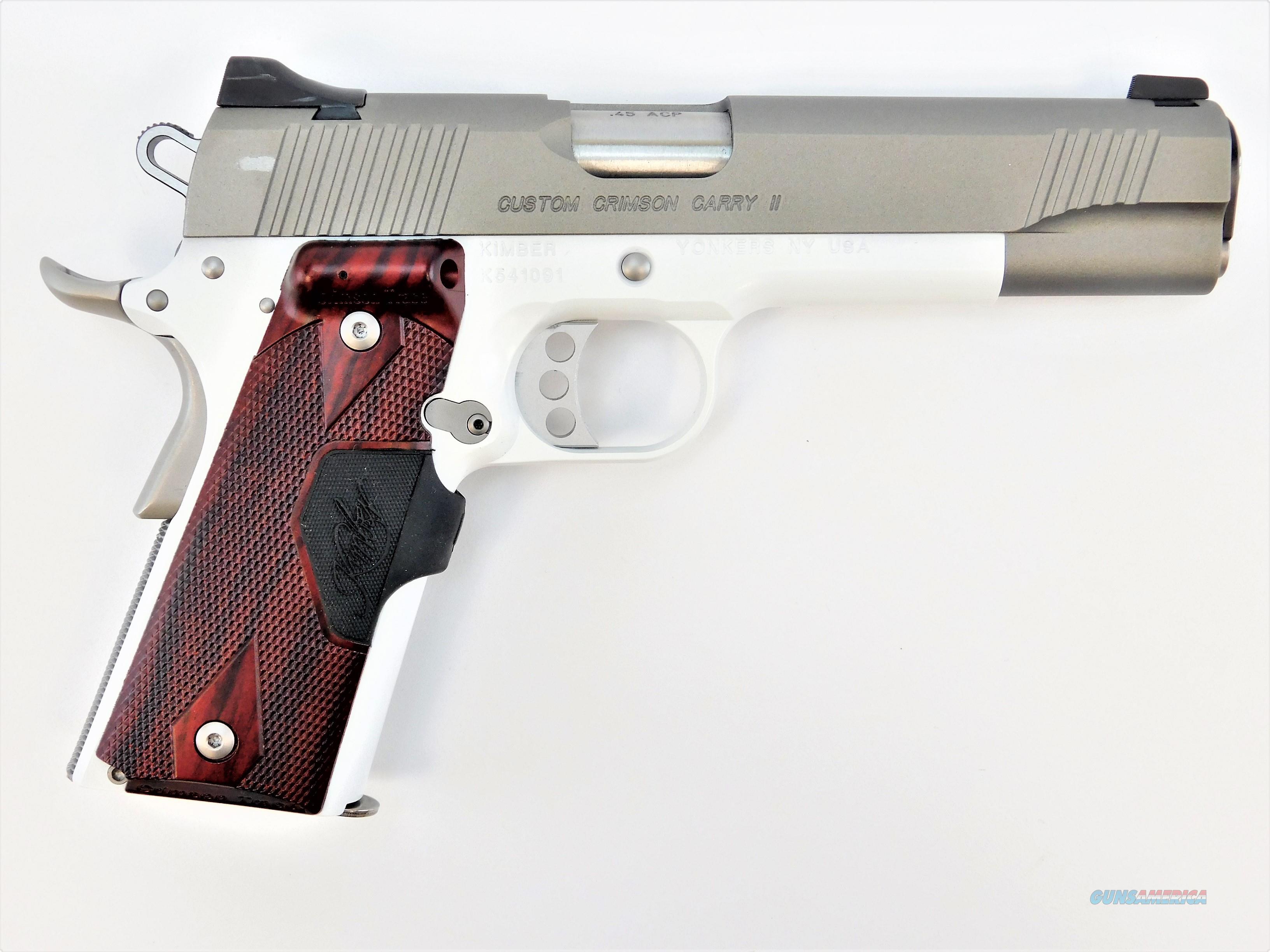 "Kimber Custom Crimson Carry II .45 ACP 5"" Cerakoted 3200189   Guns > Pistols > Kimber of America Pistols > 1911"