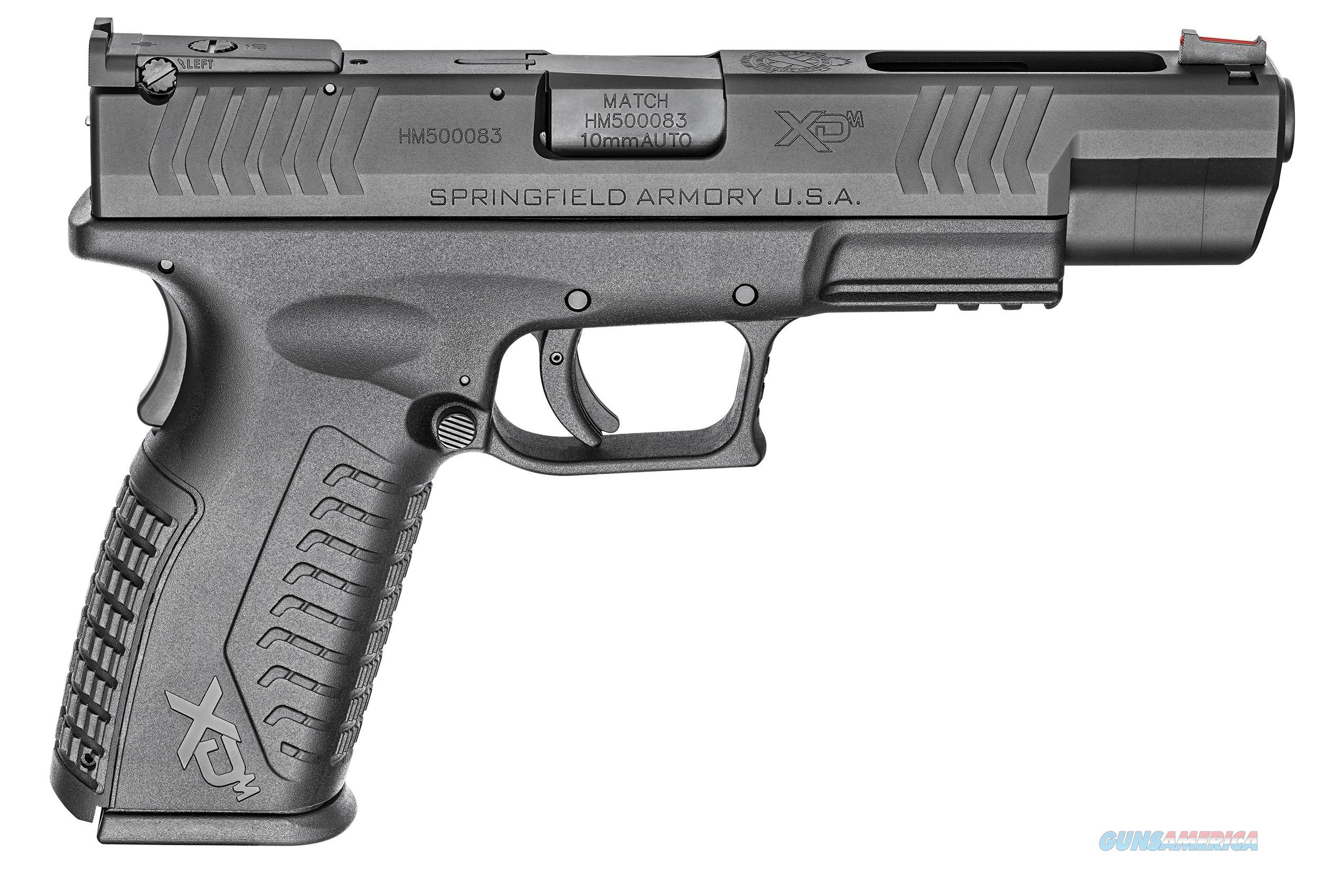 "Springfield Armory XDM 10mm 5.25"" 15 Rds XDM952510BHCE   Guns > Pistols > Springfield Armory Pistols > XD-M"