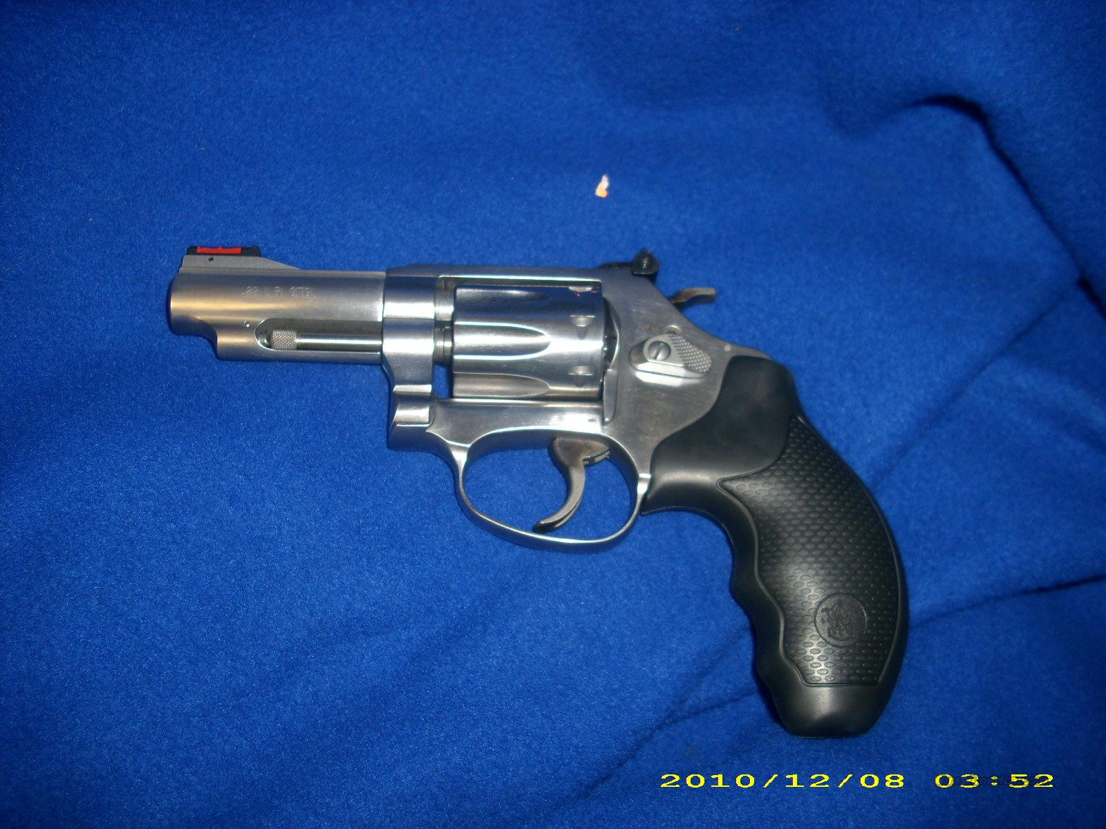 Smith and Wesson 63 22LR  Guns > Pistols > Smith & Wesson Revolvers > Pocket Pistols