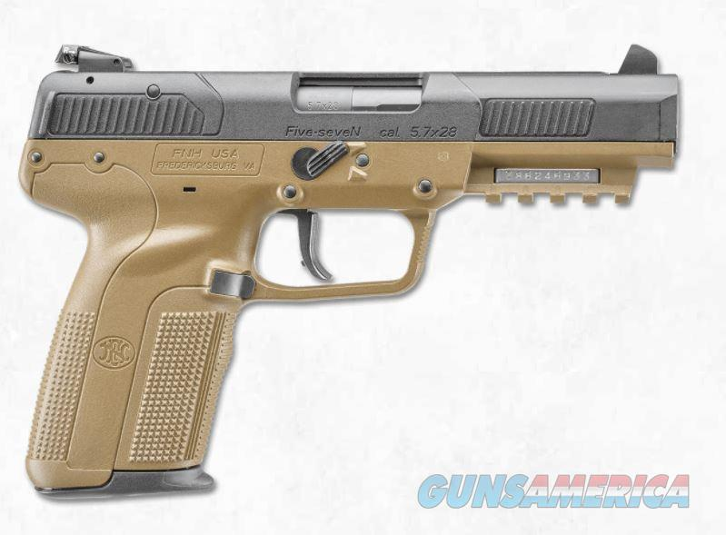 "FNH Five-SeveN 5.7x28mm FDE 4.8"" 10 Rds 3868929352   Guns > Pistols > FNH - Fabrique Nationale (FN) Pistols > FiveSeven"