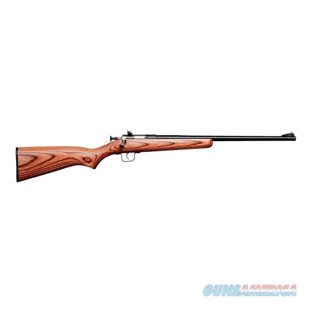 Keystone Crickett Single Shot .22 LR Brown Laminate KSA2255  Guns > Rifles > K Misc Rifles