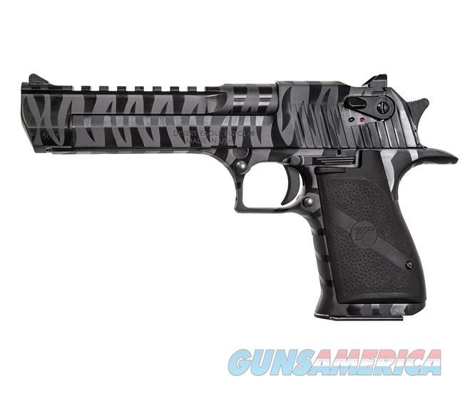 "Magnum Research Desert Eagle .50 AE 6"" 7 Rds Black with Tiger Stripes DE50BTS  Guns > Pistols > Magnum Research Pistols"