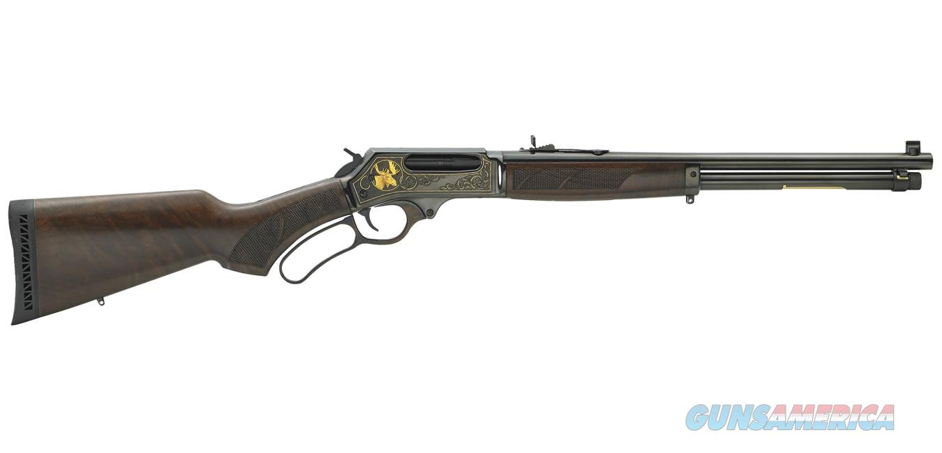 "Henry Steel Wildlife Edition .45-70 Govt 18.43"" Walnut H010WL  Guns > Rifles > Henry Rifle Company"