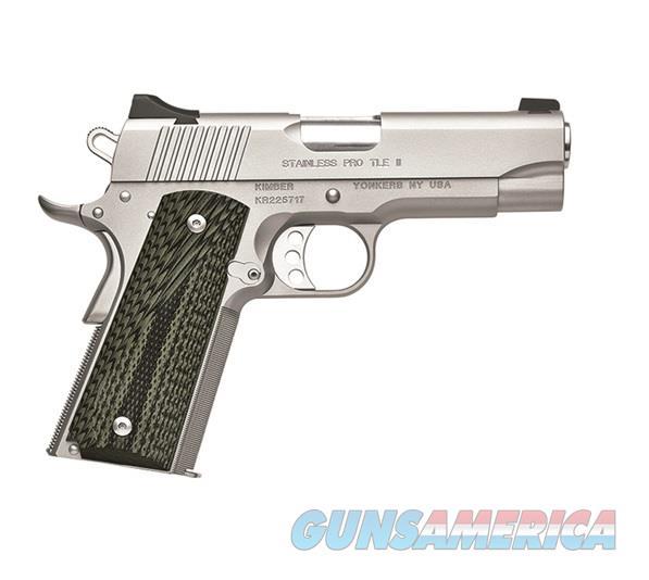 "Kimber Stainless Pro TLE II .45 ACP 4"" 7 Rds 3200345   Guns > Pistols > Kimber of America Pistols"