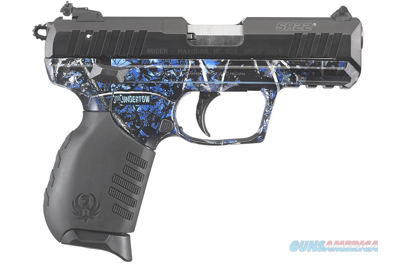 Ruger SR22PB .22 LR Moonshine Camo Undertow 3635   Guns > Pistols > Ruger Semi-Auto Pistols > SR Family > SR22