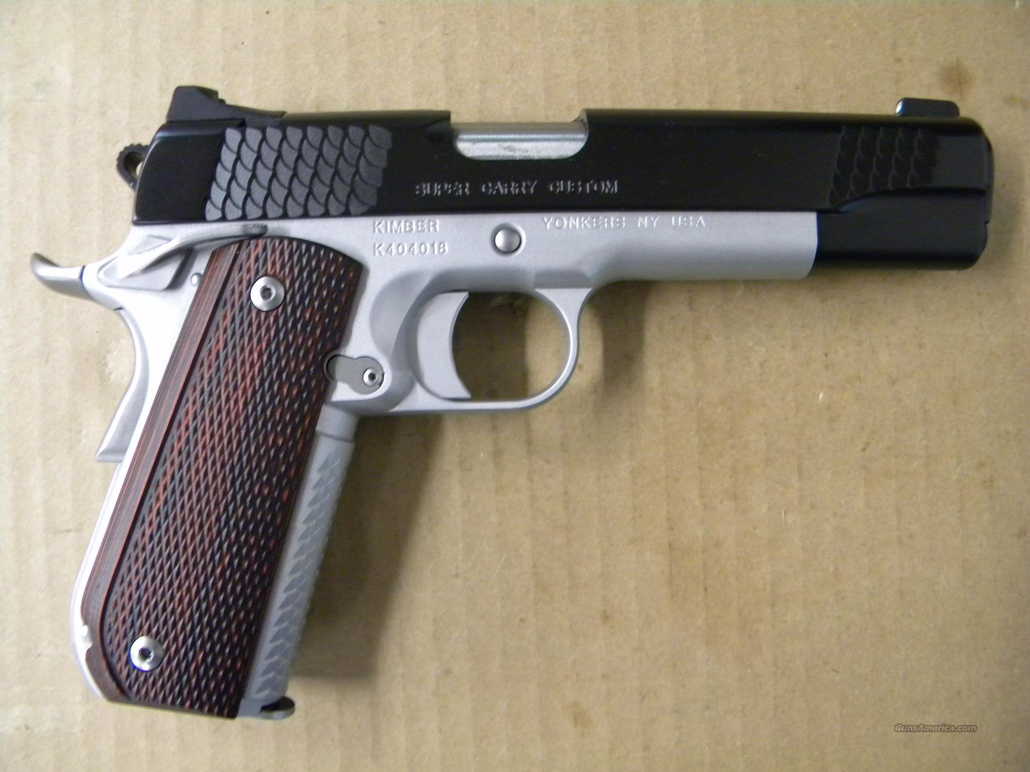 Kimber Super Carry Custom 1911 .45ACP  Guns > Pistols > Kimber of America Pistols