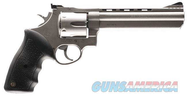 "Taurus Model 44 Stainless .44 Magnum 6.5"" Vent Rib 6 Rds 2-440069  Guns > Pistols > Taurus Pistols > Revolvers"