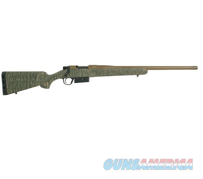 "Christensen Arms Mesa .450 Bush 20"" Burnt Bronze / Green Stock 801-01014-00   Guns > Rifles > Custom Rifles > Bolt Action"