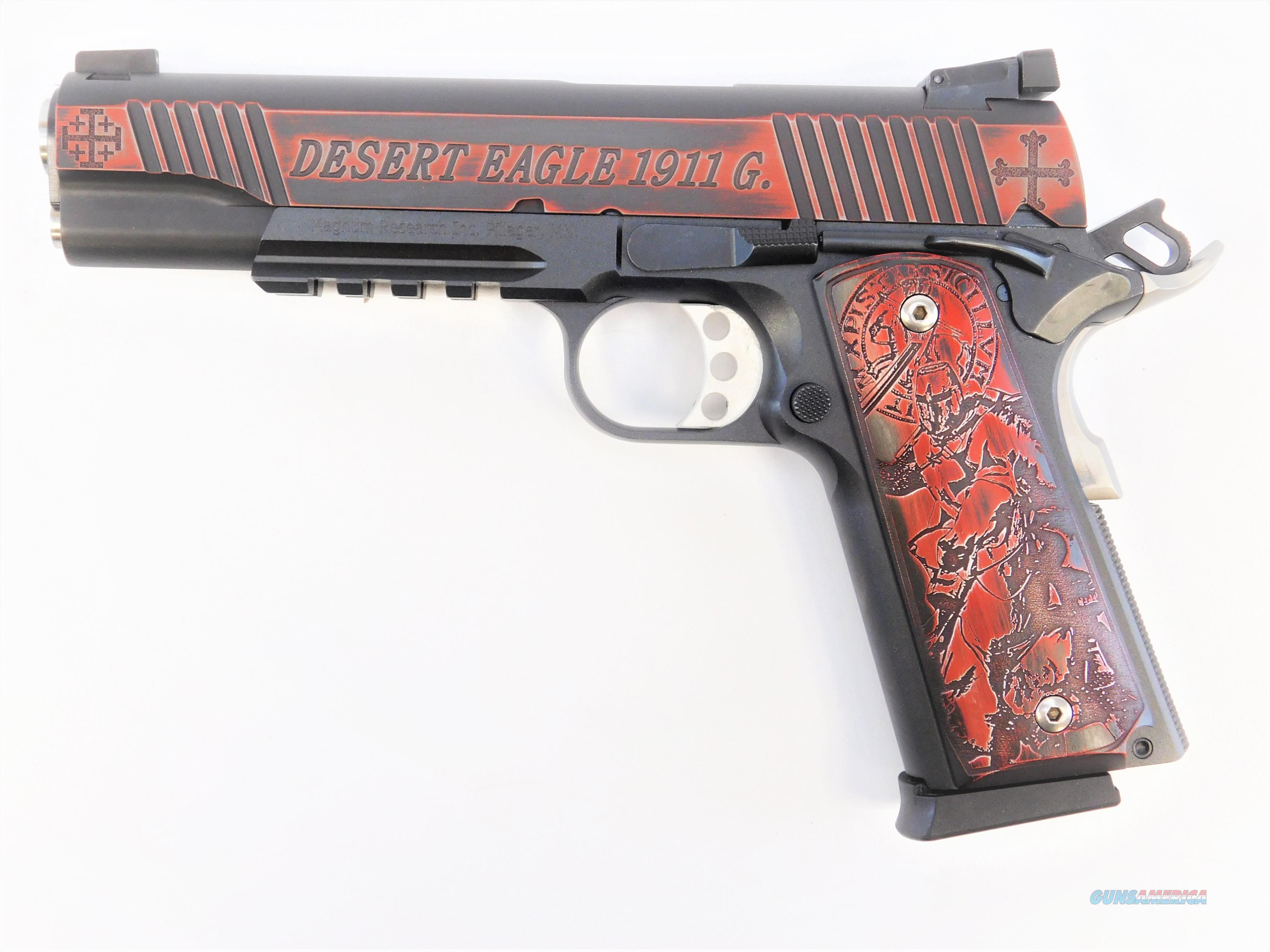 "Magnum Research DE1911G Crusader Edition .45 ACP 5"" Custom DE1911GRC2  Guns > Pistols > Magnum Research Pistols"