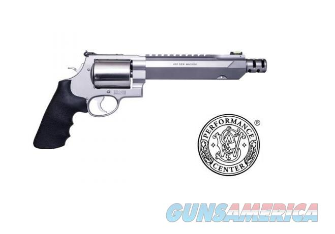 "Smith & Wesson PC Model 460XVR .460 S&W 7.5"" SS HI-VIZ Fiber optic 11626  Guns > Pistols > Smith & Wesson Revolvers > Performance Center"