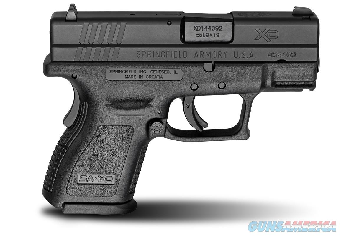 "Springfield XD Sub-Compact 9mm Luger 3"" XD9801   Guns > Pistols > Springfield Armory Pistols > XD (eXtreme Duty)"