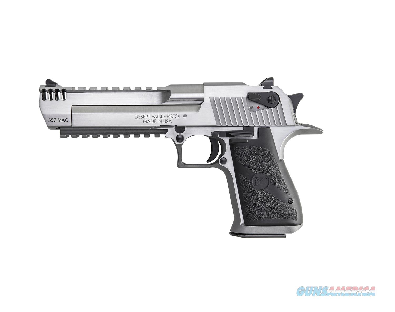 Magnum Research Desert Eagle .357 Mag MB Stainless DE357SRMB   Guns > Pistols > Magnum Research Pistols