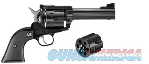 "Ruger New Model Blackhawk Convertible .357 Mag/9mm 4.62"" Blued 0308   Guns > Pistols > Ruger Single Action Revolvers > Blackhawk Type"