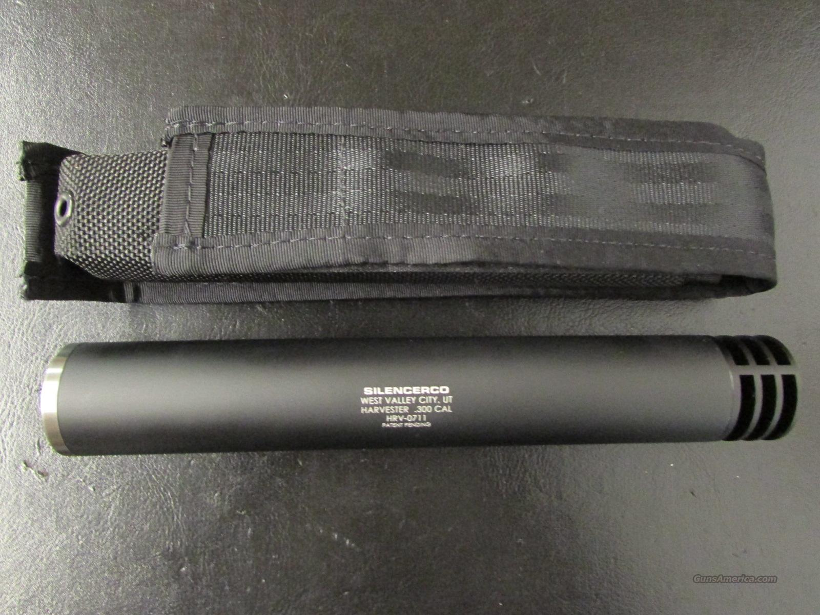 SilencerCo Harvester 30 .300 Win. Mag .30 Caliber Suppressor  Non-Guns > Barrels