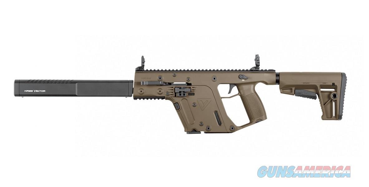 """Kriss Vector Gen II CRB 9mm FDE 16"""" KV90-CFD20  Guns > Rifles > Kriss Tactical Rifles"""