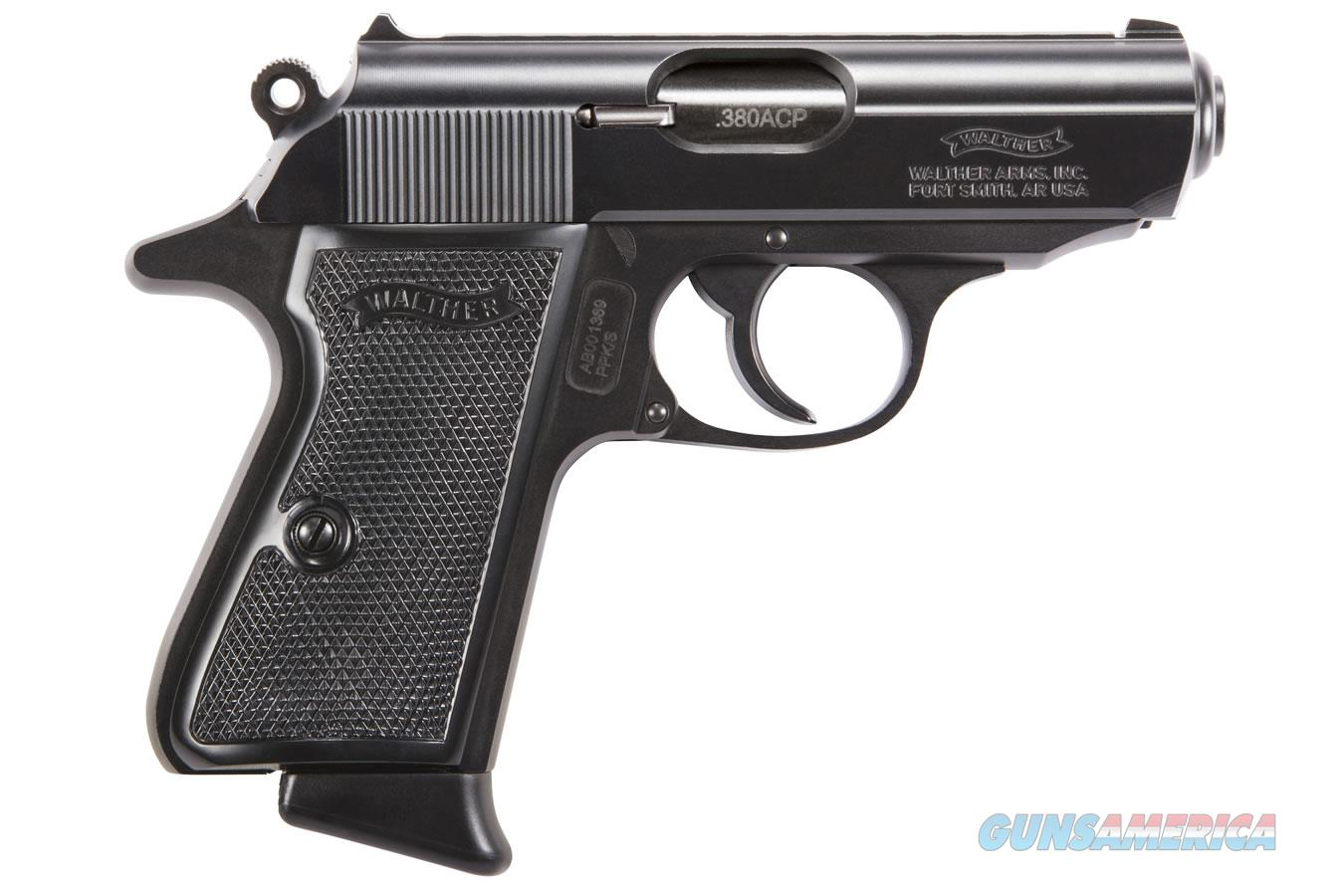 """Walther PPK/S .380 ACP 3.3"""" 7 Rds Black 4796006  Guns > Pistols > Walther Pistols > Post WWII > PPK Series"""