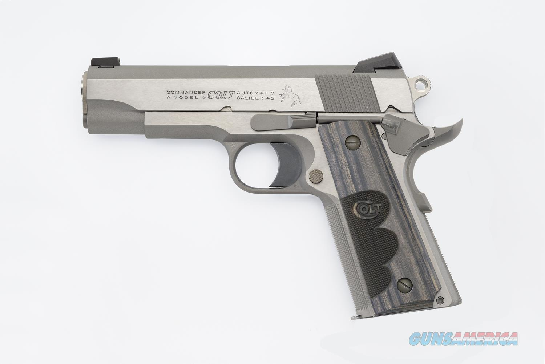 "Colt Commander Wiley Clapp .45 ACP TALO Edition 4.25"" O4040WC   Guns > Pistols > Colt Automatic Pistols (1911 & Var)"