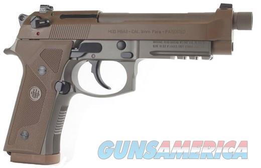 """Beretta M9A3 9mm FDE 5"""" Threaded 10 Round J92M9A3  Guns > Pistols > Beretta Pistols > M9"""