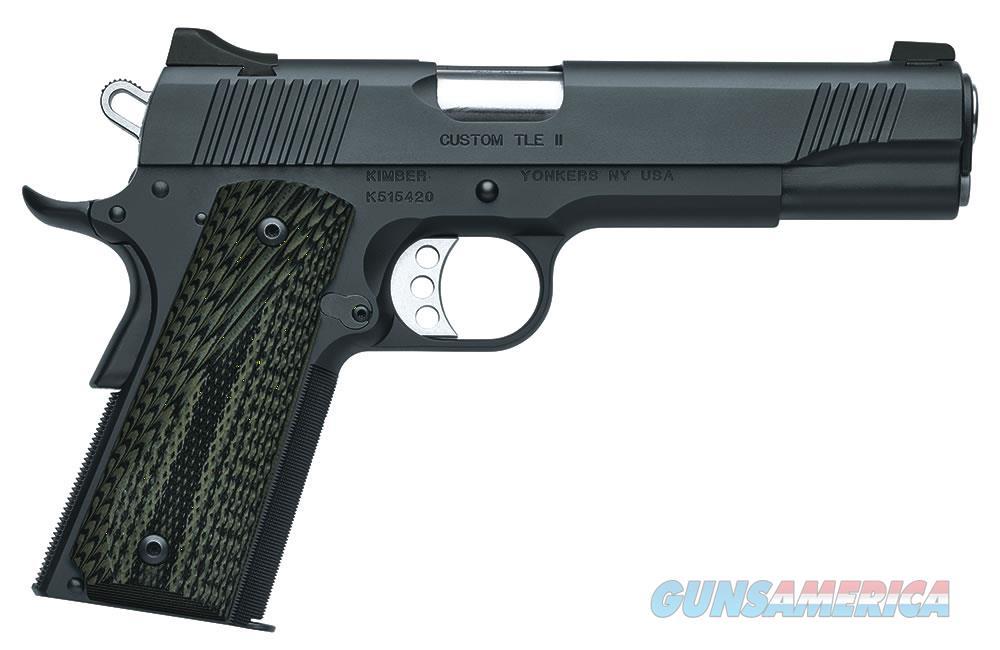 """Kimber Custom TLE II 10MM 5"""" 8 Rounds  3200347   Guns > Pistols > Kimber of America Pistols"""