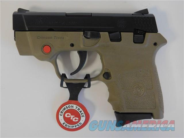 Smith & Wesson M&P BG380 Bodyguard .380 Auto FDE Crimson Trace 10168  Guns > Pistols > Smith & Wesson Pistols - Autos > Polymer Frame