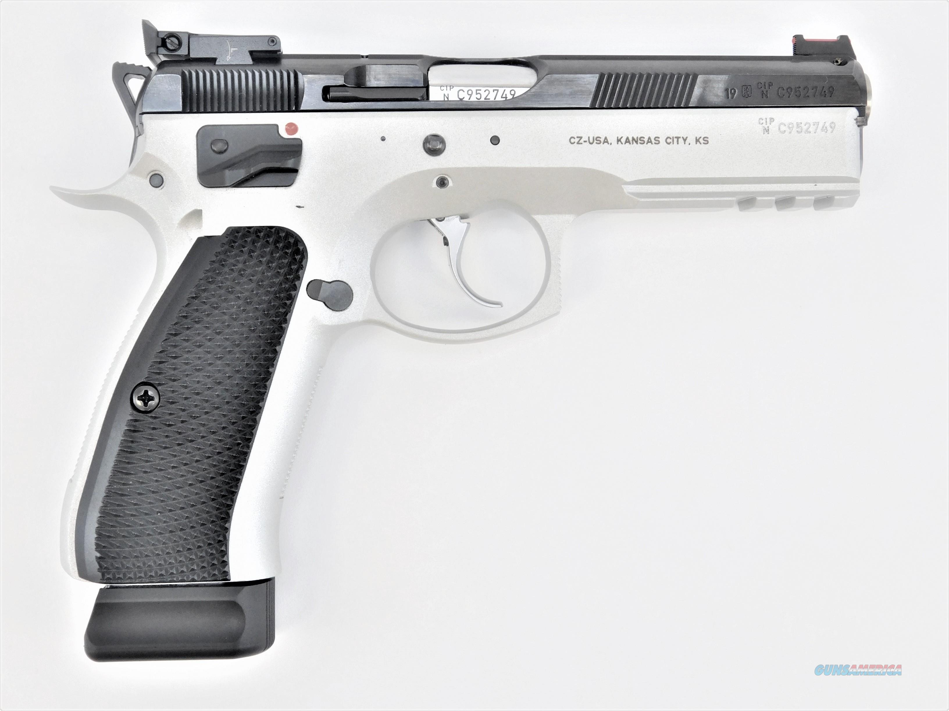 "CZ-USA SP-01 Shadow Dual Tone 9mm 4.7"" Custom 91708   Guns > Pistols > CZ Pistols"