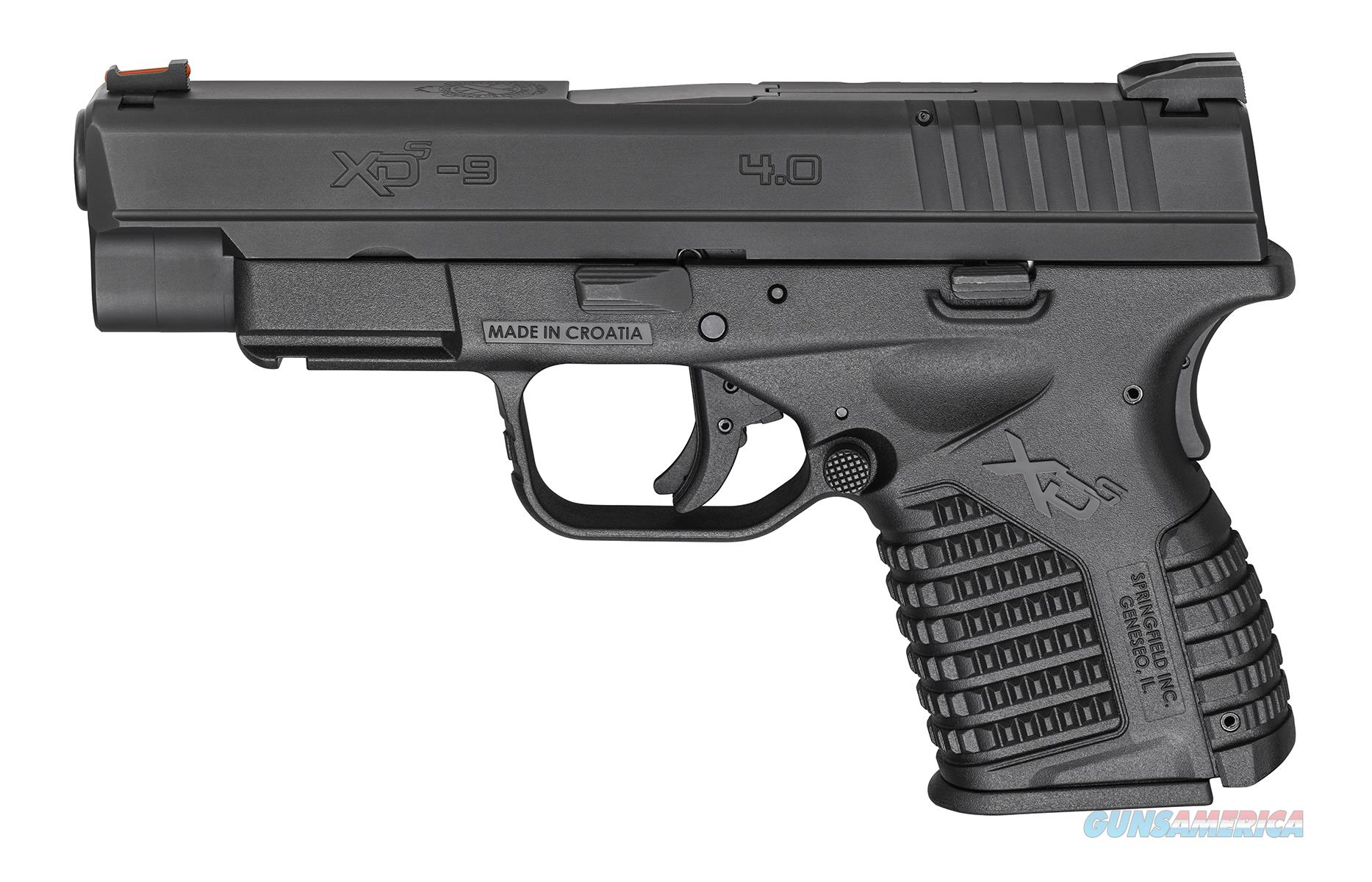 "Springfield Armory XD-S 9mm Luger 4"" XDS9409BE  Guns > Pistols > Springfield Armory Pistols > XD-S"