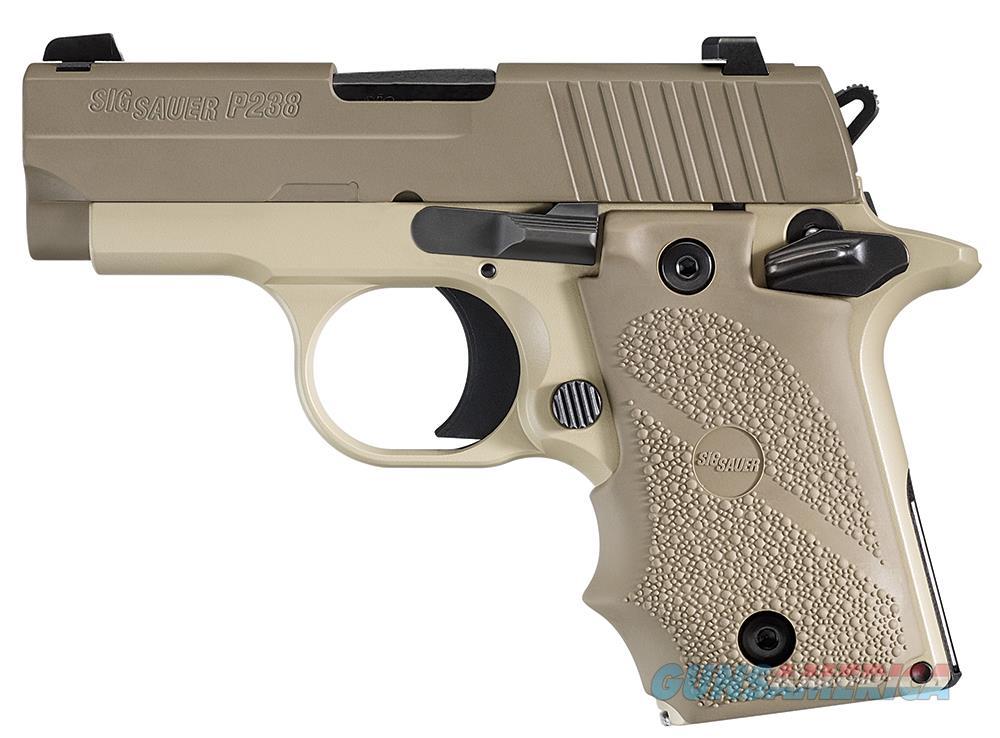 "Sig Sauer P238 Desert Tan .380 ACP 2.7"" 238-380-DES   Guns > Pistols > Sig - Sauer/Sigarms Pistols > P238"