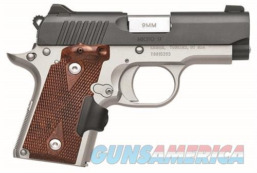 Kimber Micro 9 Crimson Carry Two-Tone 9MM 3300101   Guns > Pistols > Kimber of America Pistols > Micro 9