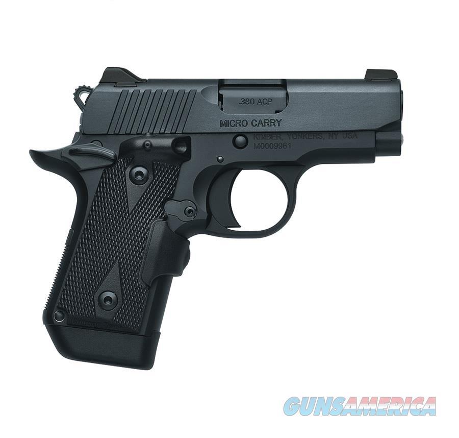 "Kimber Micro DC (LG) Crimson Trace Grip .380 ACP 2.75""  3300096   Guns > Pistols > Kimber of America Pistols"