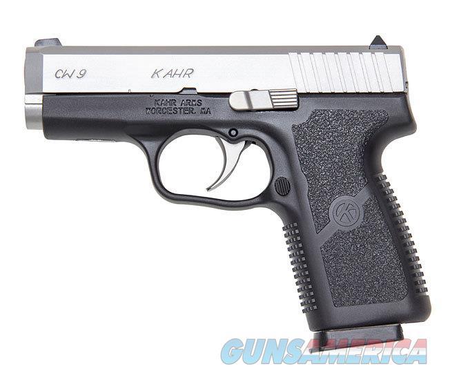 """Kahr Arms CW9 9mm 3.565"""" Black/Stainless CW9093  Guns > Pistols > Kahr Pistols"""