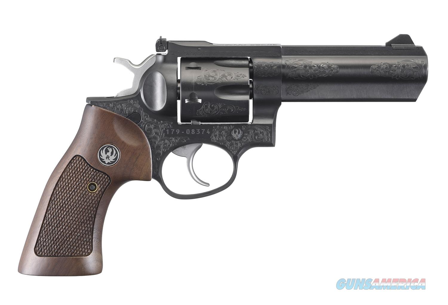 """Ruger GP100 Deluxe Engraved .357 Mag 4.2"""" TALO 1783  Guns > Pistols > Ruger Double Action Revolver > GP100"""