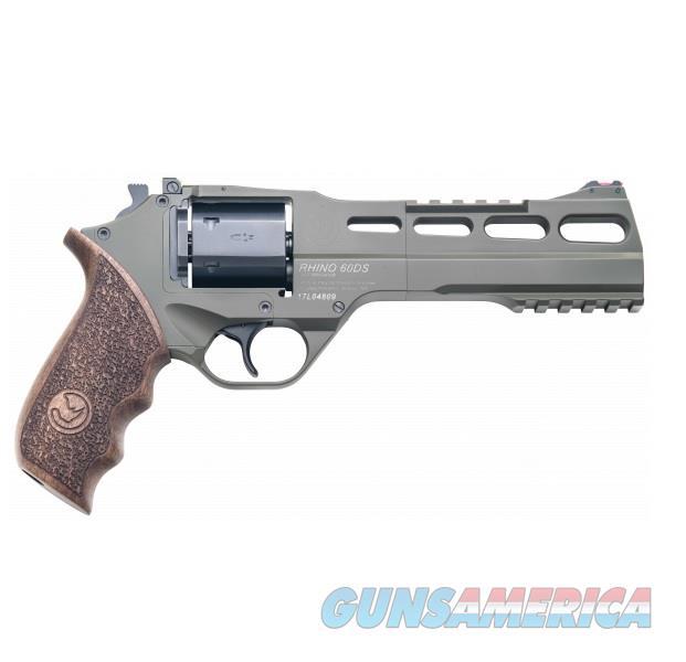 "Chiappa Rhino 60DS SAR Hunter .357 Mag OD Green 6"" CF340.282   Guns > Pistols > Chiappa Pistols & Revolvers > Rhino Models"
